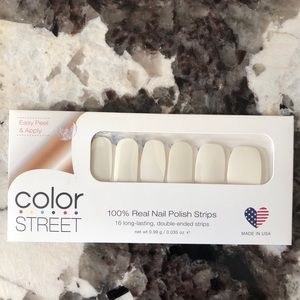 Two sets! Clear As Day! Color Street Nail Set